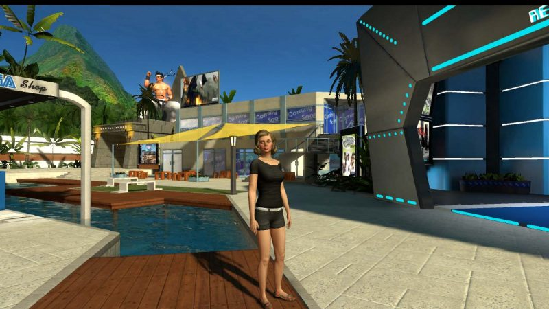 SEGA playstation home