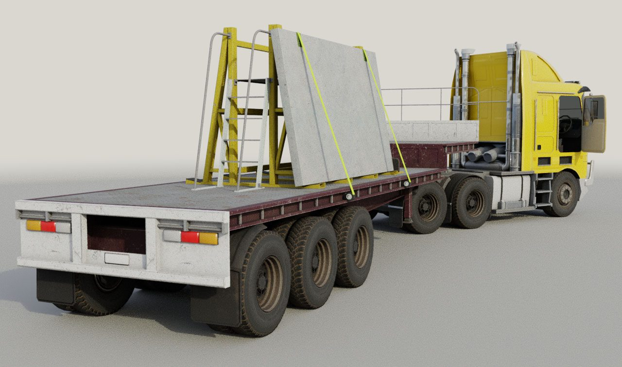 RSG Drop Deck Trailer and Truck2